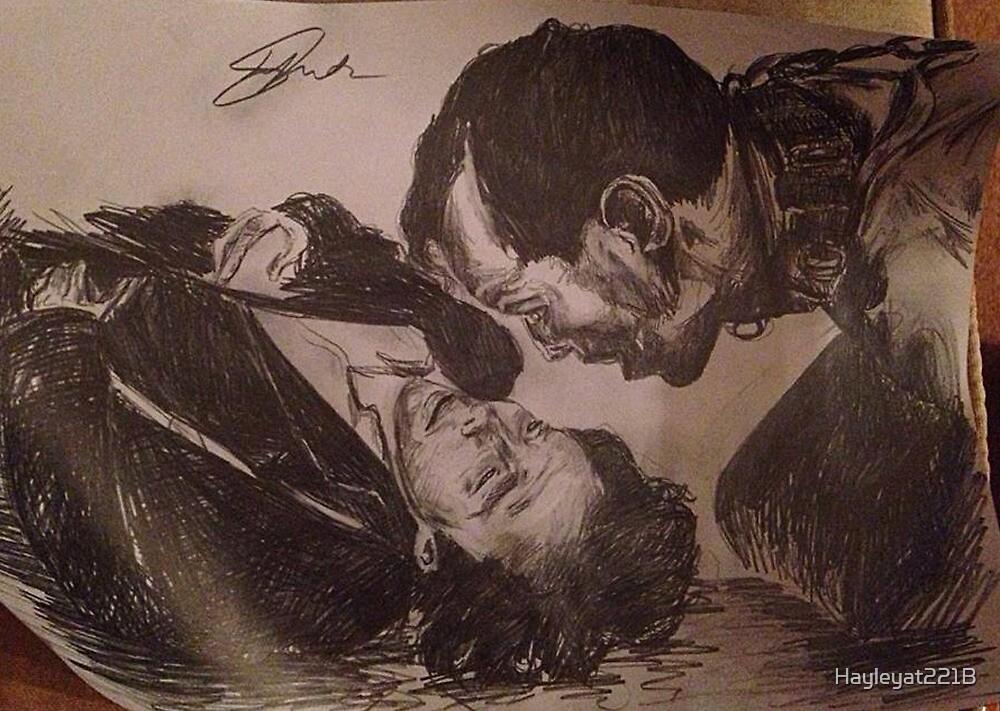 Sherlock and Moriarty - Mind Palace Asylum by Hayleyat221B