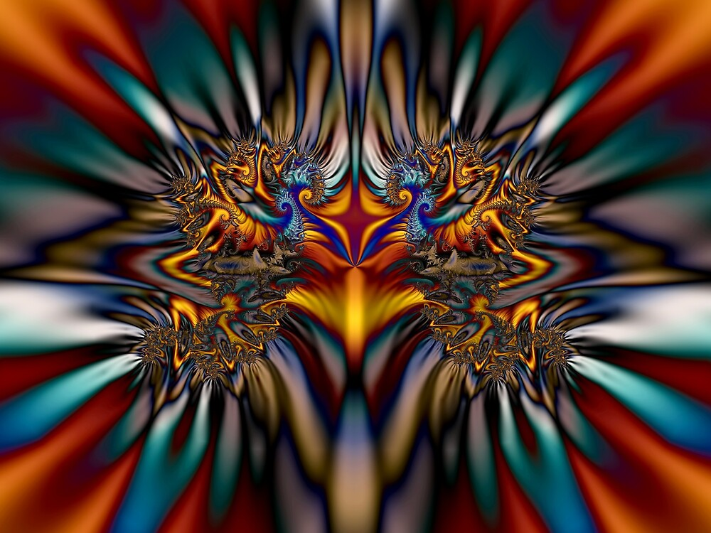 Fractal Art by Bundestagswahl