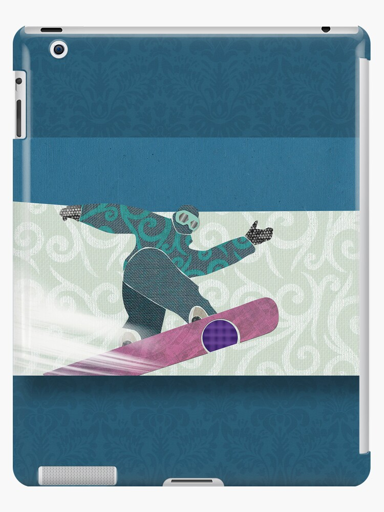 Snowboarding by Janet Carlson