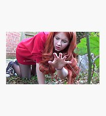Amy Pond (Flesh and Stone/Time of Angels Cosplay) Photographic Print