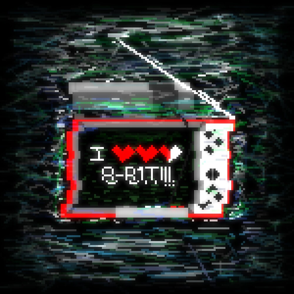 I love 8bit by captainpolluck