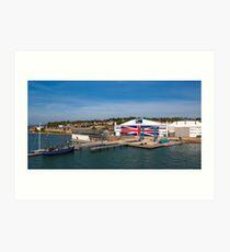 Venture Quays IOW Art Print