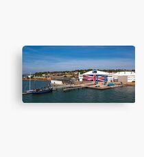 Venture Quays IOW Canvas Print