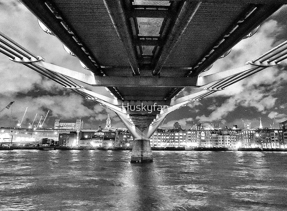 Under the bridge by Huskyfan