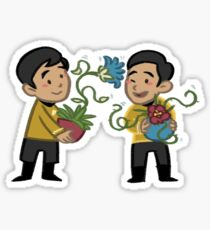 tos meets aos: sulu Sticker
