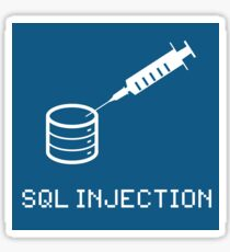 SQL Injection Sticker