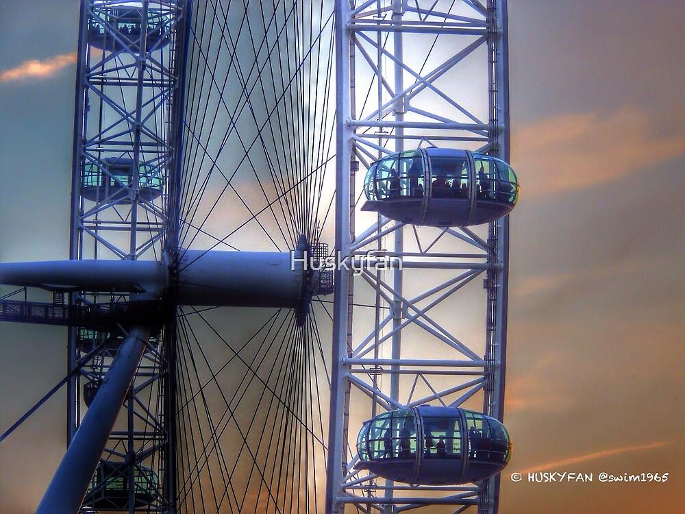 London Eye by Huskyfan