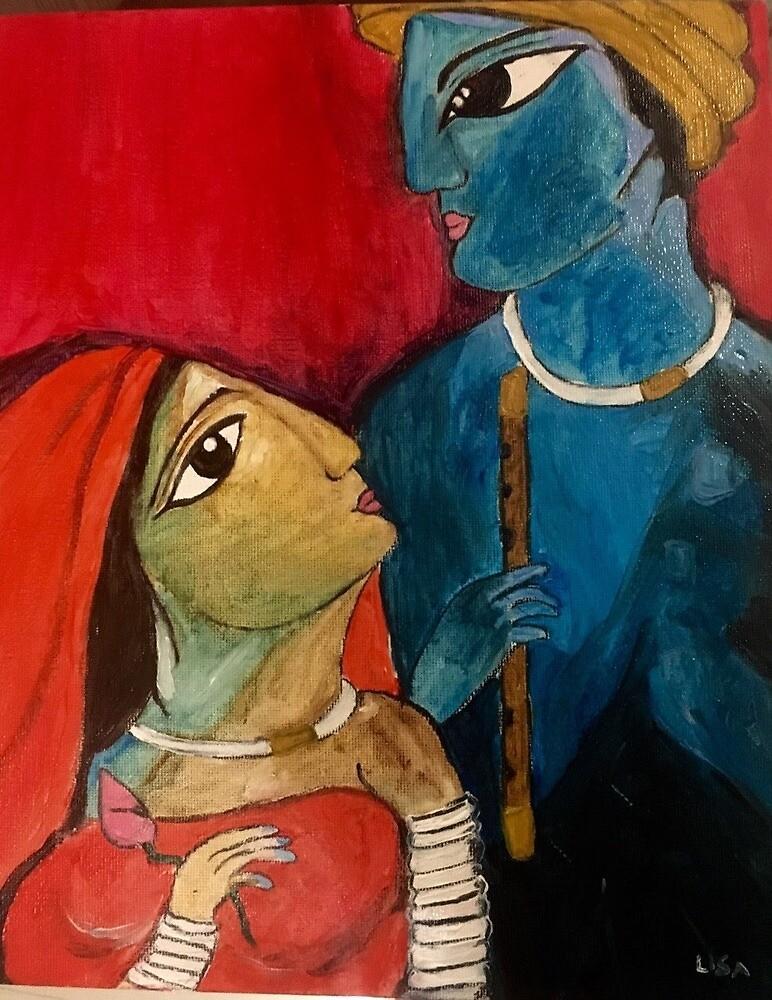 Radha Krishna  by Tahmina1