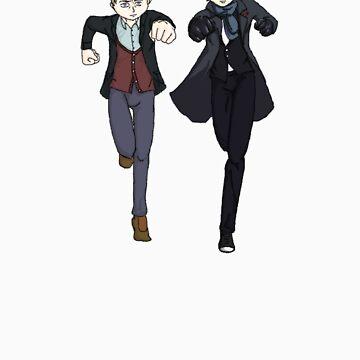 Sherlock Run by Stitch0Kittens