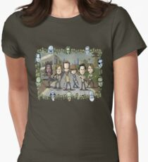 The Walking Dead by Kenny Durkin Women's Fitted T-Shirt