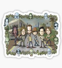 The Walking Dead by Kenny Durkin Sticker