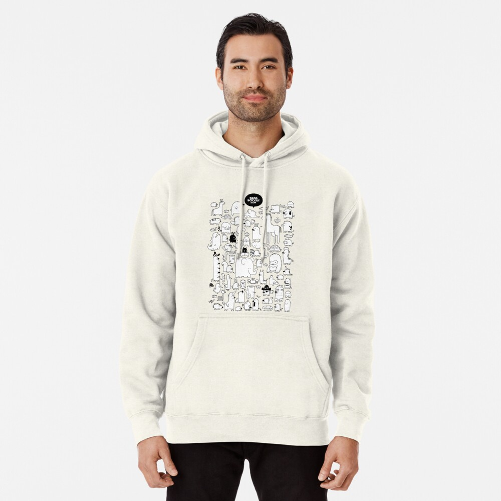 All the Beasts Imagined & Real Pullover Hoodie