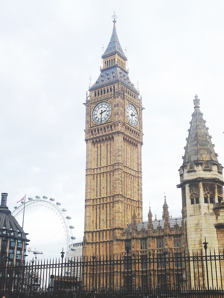 big ben by Catherine Ostholthoff
