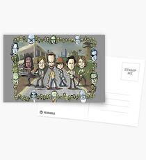 The Walking Dead by Kenny Durkin Postcards