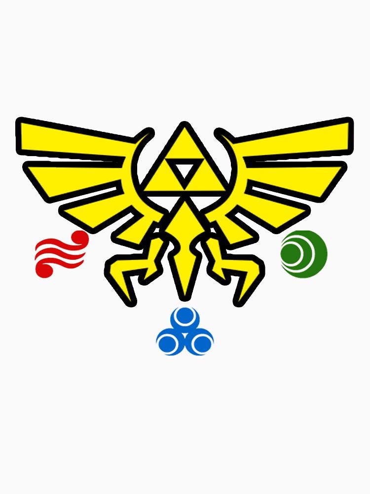 Zelda w/symbols by CutlineDesigns