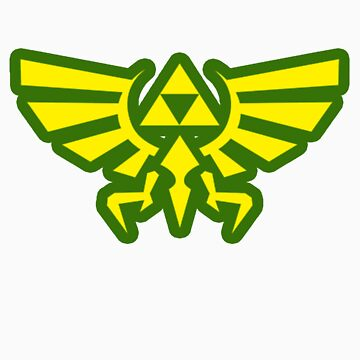 Legend Of Zelda Green by CutlineDesigns