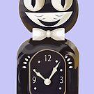 Cat Clock by tashatringale