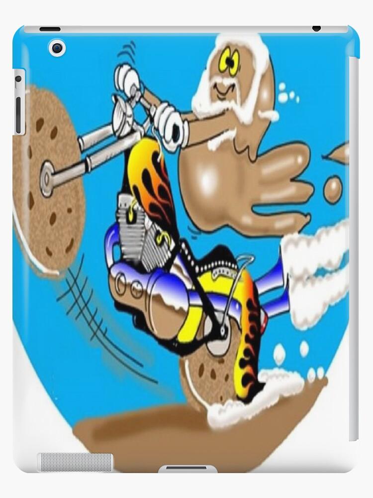 MOTORCYCLE CARTOON TABLET CASE by InspireCartoons