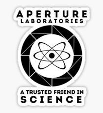 Aperture - Science Friend Sticker