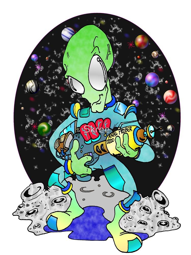 Crazy Alien by Skree