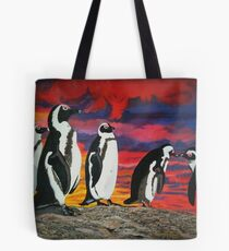 African Penguins Tote Bag