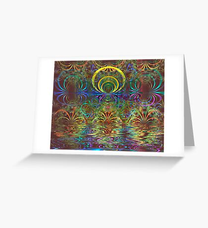 Shimmer Greeting Card