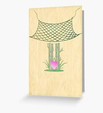 Catch Love Greeting Card