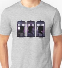 Doctor Who - 9, 10 & 11 Catchphrases Unisex T-Shirt