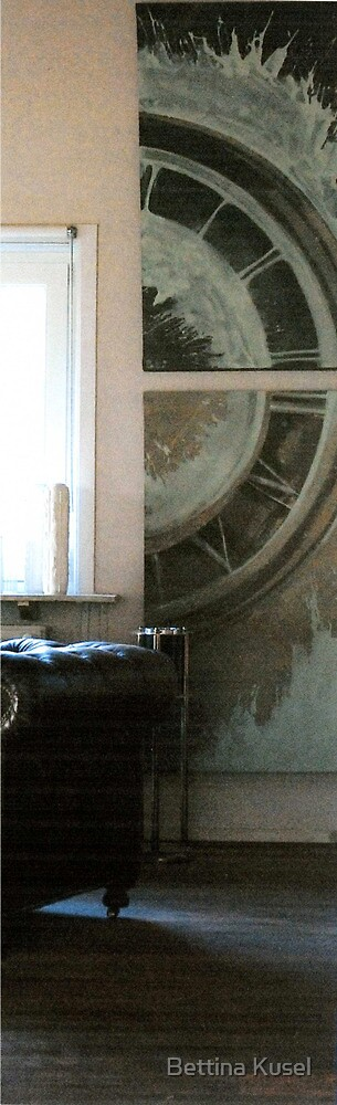 one half in situ by Bettina Kusel