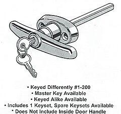 """5"""" T Handle Lock  by waterloostr"""