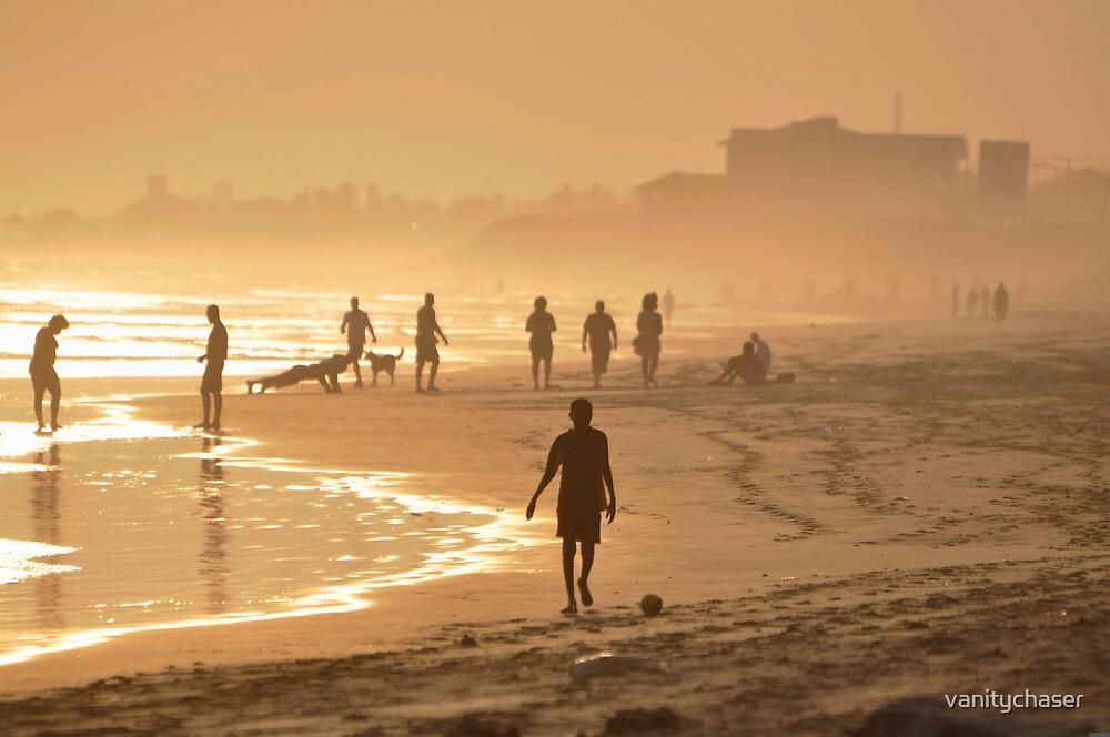 sunset walk  by vanitychaser