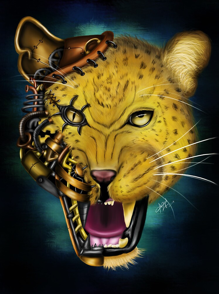 Mechanical Monsters: Leopard by gimmicks