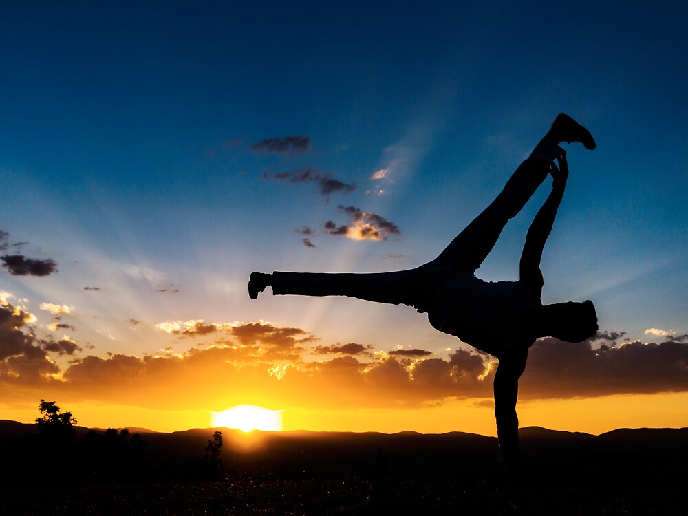 Capoeira Sunset by Peter Gray