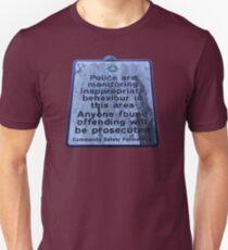 Doggers Beware Unisex T-Shirt