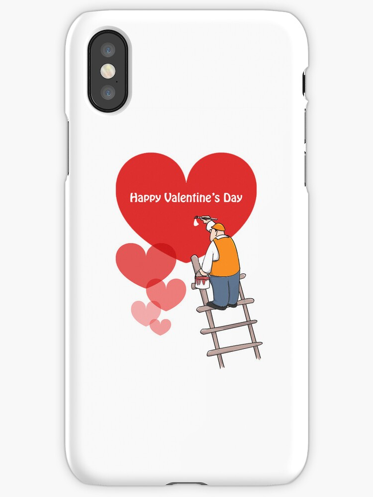 Valentine's Day Phone Cases, Red Hearts by Sagar Shirguppi