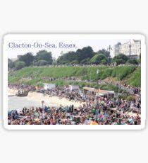 Clacton Sticker