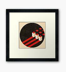Constructivist Composition. Framed Print