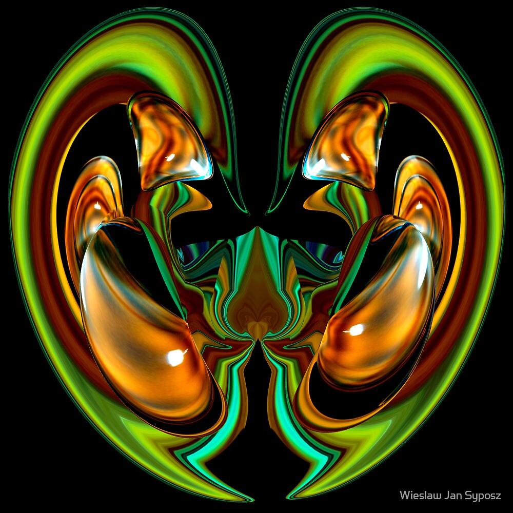 golden & emerald fantasy 3 by Wieslaw Jan Syposz