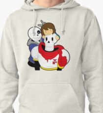 Undertale Sans and Papyrus Pullover Hoodie