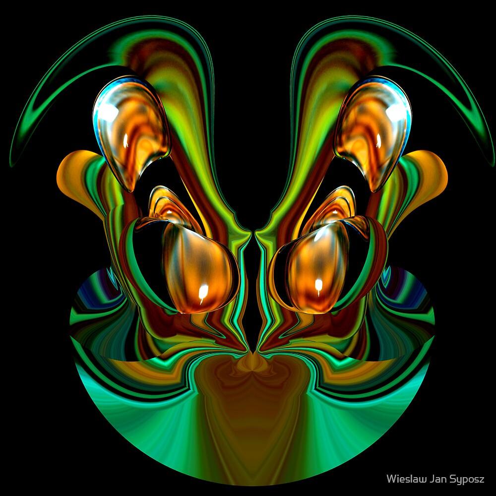 golden & emerald fantasy 4 by Wieslaw Jan Syposz