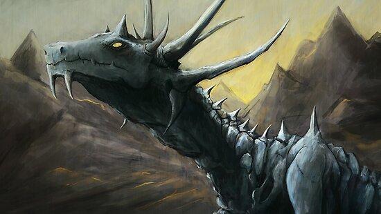 Blue Dragon by Adam Howie