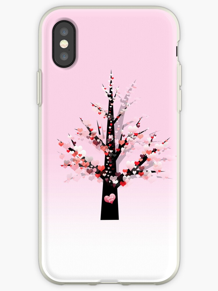 Phone case: Valentine Tree by Steven House