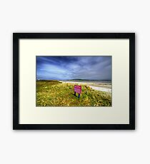 Barra Airport Framed Print