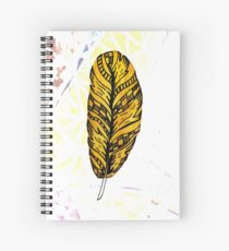 Desire Feather Spiral Notebook