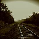 Tracks in Parry Sound by Jonny  McKinnon