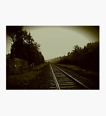 Tracks in Parry Sound Photographic Print
