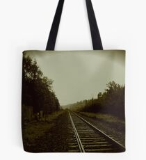 Tracks in Parry Sound Tote Bag