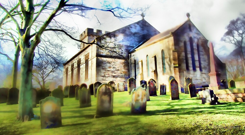 Tanfield Church, Stanley, Co. Durham by John Lynch
