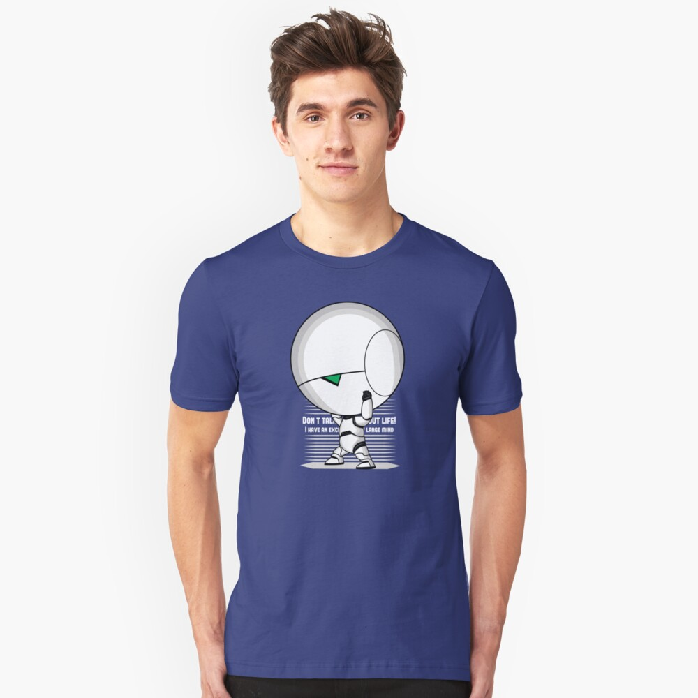 The weight of the world Slim Fit T-Shirt