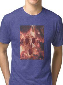 Skull Burning Tri-blend T-Shirt